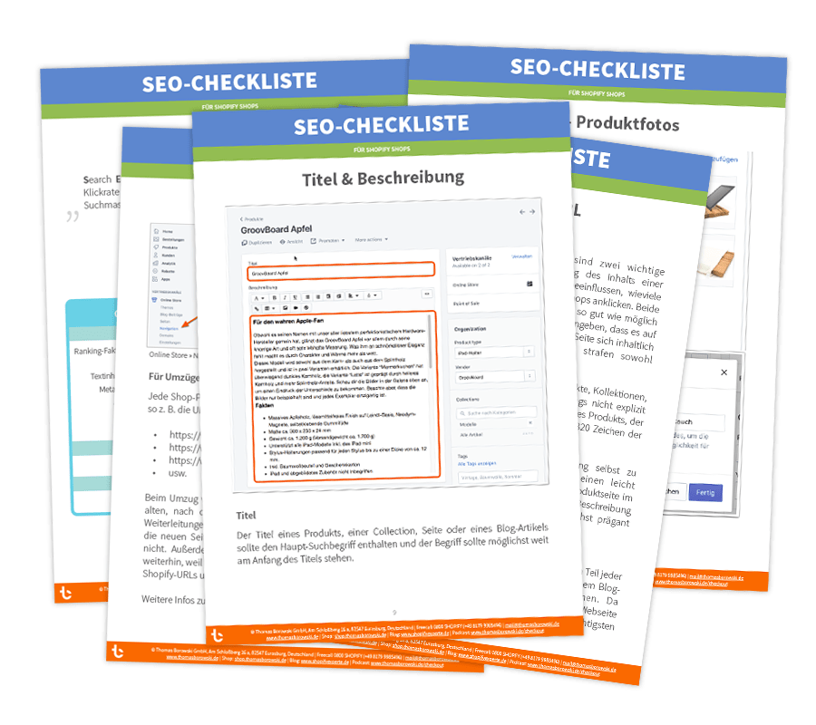 Shopify SEO-Checkliste
