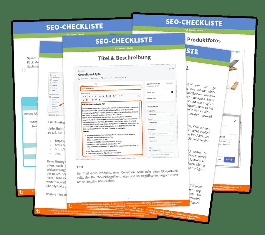 Shopify SEO-Checkliste